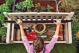 Keter Gartenbank und Kissenbox Eden, Beige, 265L, 140cm - 5