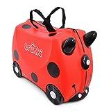 Trunki Trolley Kinderkoffer, Handgepäck für Kinder: Harley Marienkäfer (Rot)