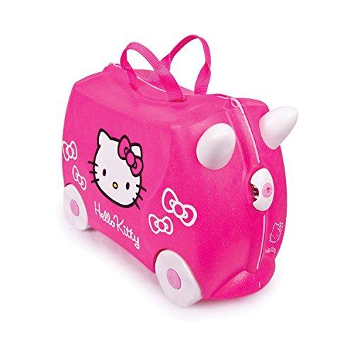 Trunki Trolley Kinderkoffer, Handgepäck für Kinder: Hello Kitty (Rosa)