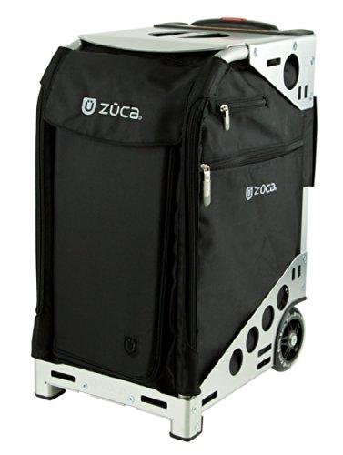 Züca Pro Travel - der Koffer zum Sitzen (Edelstahl)