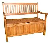 Gartenbank 3-Sitzer aus Akazienholz, 157cm