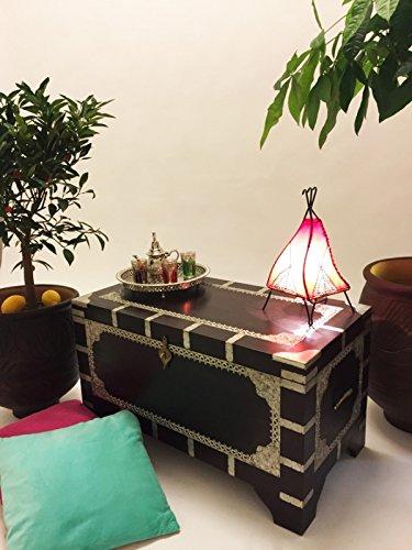Marrakesch Orient & Mediterran Interior ® Indischer Truhentisch Vimalaa - 80cm - 5