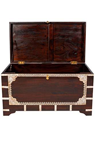 Marrakesch Orient & Mediterran Interior ® Indischer Truhentisch Vimalaa - 80cm - 4