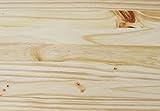 KMH®, große Spielzeugkiste auf Rollen aus massivem Pinienholz (Natur) (#800068) - 4