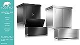 ILESTO Aufbewahrungsbox aus Stahl, Benjamin (783L): Auflagenbox wasserdicht XXL   Kissenbox für Ihren Garten 185x85x69cm   Stauraum für den Außenbereich   Silber Metallic - 8