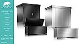 ILESTO Aufbewahrungsbox aus Stahl, Ben (692L): Auflagenbox wasserdicht XL | Kissenbox für Ihren Garten 165x85x69cm | Stauraum für den Außenbereich | Silber Metallic - 8