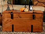 Holzkiste Holztruhe Couchtisch Kaffeetisch, shabby chic, Tisch, Truhe, Kiste Länge: 80 cm Höhe: 45 cm Tiefe: 50 cm - 6