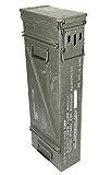 Große & Schmale originale gebrauchte Munitionskiste der U.S. Army Metallkiste Mun-Kiste Behälter Metallbox