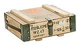 """Munitionskiste""""7.62 Slepe"""" Aufbewahrungskiste Maße ca 40x35x15cm Militärkiste Munitionsbox Holzkiste Holzbox Weinkiste Apfelkiste Shabby Vintage"""
