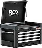 BGS 4112 | Werkstattwagen-Aufsatz für Werkstattwagen PROFI | 4 Schubladen | leer