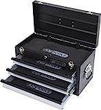 KS Tools 801.0003 Werkzeugtruhe mit 3 Schubladen-schwarz, L508xH255xB303mm