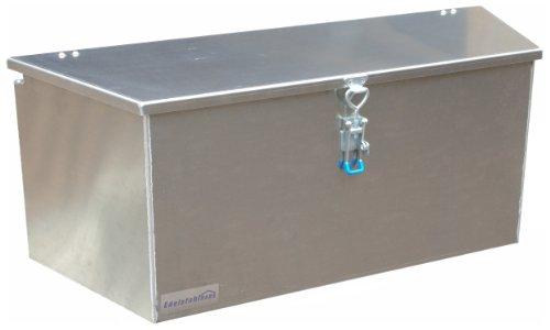 ADE - Premium Deichselbox von Edelstahlhaus, Transportbox, Alubox für PKW Anhänger D2A20N100-075-35-40