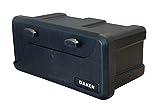 DAKEN Deichselbox Blackit 2-550x250x295mm Anhängerbox Werkzeugkasten Anhänger Staukiste Werkzeugkiste Box 23L