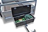 Staubox Kunststoff 610 x 310 x 250 mm PE mit Deckel
