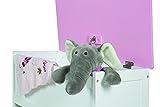 roba 450518D332 Spielzeugtruhe Krone, rosa - 6