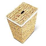 Wäschekorb MARKUS, 34x34x43 oder 40x30x50 cm (L/B/H), Wäschebox, inkl. Wäschesack aus Baumwolle, Volumen: ca. 35 bzw. 60 Liter – Premium Wäschetruhe - 3
