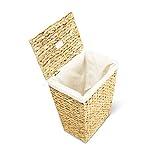 Wäschekorb MARKUS, 34x34x43 oder 40x30x50 cm (L/B/H), Wäschebox, inkl. Wäschesack aus Baumwolle, Volumen: ca. 35 bzw. 60 Liter – Premium Wäschetruhe - 4