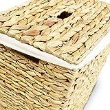 Wäschekorb MARKUS, 34x34x43 oder 40x30x50 cm (L/B/H), Wäschebox, inkl. Wäschesack aus Baumwolle, Volumen: ca. 35 bzw. 60 Liter – Premium Wäschetruhe - 5