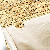 Wäschekorb TOM, 46x46x70 cm (L/B/H), Wäschebox, inkl. Wäschesack aus Baumwolle, Volumen: ca. 140 Liter  Wäschetruhe - 3