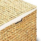 Wäschekorb TOM, 46x46x70 cm (L/B/H), Wäschebox, inkl. Wäschesack aus Baumwolle, Volumen: ca. 140 Liter  Wäschetruhe - 6