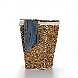 Casa Mina Wäschekorb Wäschebox Wäschesammler aus Wasserhyazinthe Brunei 61cm
