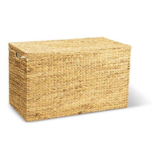 Wäschekorb JONAS XL, 100x55x60 cm (L/B/H), Wäschebox, inkl. Wäschesack aus Baumwolle, XXL Wäschetruhe, Volumen: ca. 330 Liter