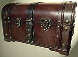Schatzkiste Piratentruhe Geschenk Box Kasten Größe 34x24x21