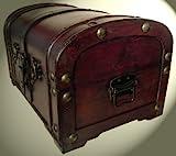 Schatzkiste Piratentruhe Geschenk Box Kasten Größe 34x24x21 - 2