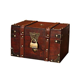 Geschenk-Box Verschlie/ßbar Mit Deckel Und Schloss Mit Schl/üssel 30x20x15cm//18x11x10cm Schatzkiste Holz Sparkasse Geldtruhe flyingx Schatztruhe Holztruhe Schatzkiste Truhe Schatztruhe Piratenkiste