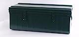 Tropenkiste Transportkiste oliv 70 x 37 x 29 Kleiderkiste Lagerkiste Werkzeugkiste