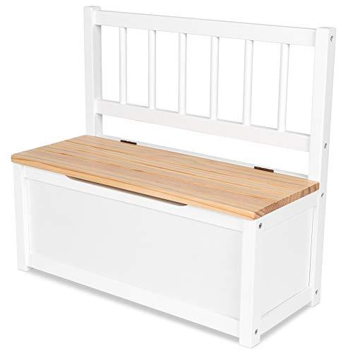 IB-Style - Kindersitzgruppe NOA | 3 Kombinationen | 1x Truhenbank - Stuhl Truhenbank Kindermöbel Tisch Kindertisch Kinderstuhl