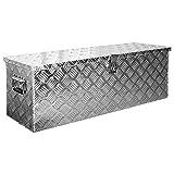 Truckbox Box Werkzeugkiste Anhängerbox Deichselbox 15 Größen Alumium Trucky, Boxentyp:D100 (99 x 33 x 32 cm)