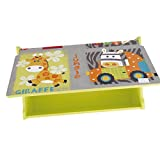 Bieco Spielzeugtruhe und Sitzbank   Aufbewahrungsbox Kinder   Holzkiste mit Deckel   Sitzbank mit Stauraum   Spielzeugkiste mit Deckel   Truhe Holz   Aufbewahrung Kinderzimmer   Spielzeugkiste Holz - 6