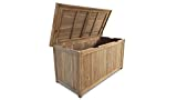 GRASEKAMP Qualität seit 1972 Teak Kissenbox 140cm Auflagenbox Gartenbox Truhe Legacy - 3