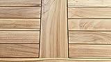 GRASEKAMP Qualität seit 1972 Teak Kissenbox 140cm Auflagenbox Gartenbox Truhe Legacy - 4
