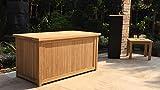 GRASEKAMP Qualität seit 1972 Teak Kissenbox 140cm Auflagenbox Gartenbox Truhe Legacy - 6