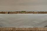 korb.outlet Breite schmale Sitztruhe/Sitzbank mit Wäschefach aus Natur-Rattan mit gepolstertem Sitz (Grau Natur) - 8