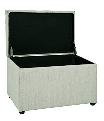 HAKU Möbel Sitztruhe beige, 65 x 40 x 42