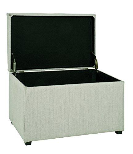 HAKU Möbel Sitztruhe beige, 65 x 40 x 42 - 4