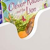 HOMCOM Kindersitzbank mit Stauraum 2-in-1 Truhenbank Spielzeugkiste Aufbewahrungstruhe 3-8 Jahre Kindermöbel Weiß 58 x 43 x 30 cm - 9