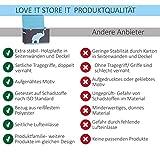 Store It 670384 Spielzeugtruhe, blauem, Polyester, Elefant - grau/hellblau, 62 x 37,5 x 39 cm - 4