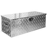 Truckbox Box Werkzeugkiste Anhängerbox Deichselbox 15 Größen Alumium Trucky, Boxentyp:D160 (109 x 40 x 38 cm)
