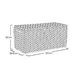Keter Auflagenbox Capri, grau, 302 L, 223cm - 10