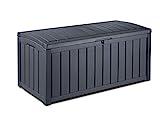 Keter Kissenbox Glenwood, grau, 390L, 128cm