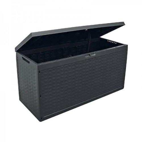 Oxid7 Auflagenbox auf Rollen, 320L, 120cm