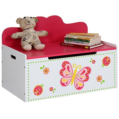Infantastic Truhenbank Kinder Kindermöbel für das Kinderzimmer inkl. Stauraum für das Spielzeug oder Anderes -