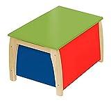 roba - Kindertruhe, Massivholz lackiert, 56x40,5x35cm