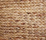 KMH® Charly, 3fach Wäschesortierer aus geflochtener Wasserhyazinthe, 82×42,5×52,5cm - 3