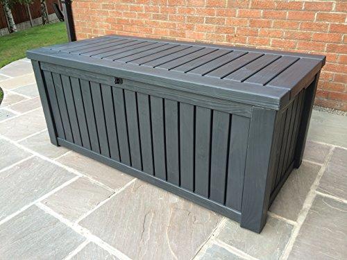 Keter Cabinet Mehrzwecktruhe Gartentruhe, 570L, 155x72,4x64,4cm