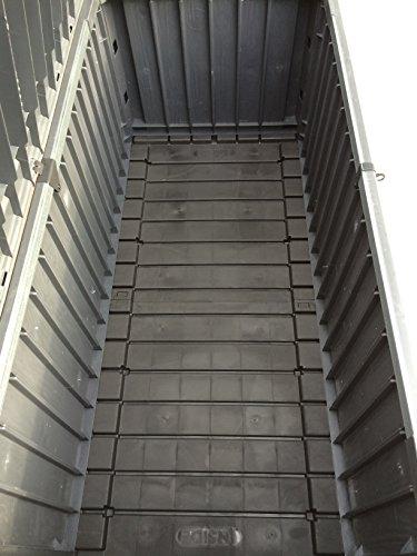 Keter Cabinet Mehrzwecktruhe Gartentruhe, 570L, 155×72,4×64,4cm - 3